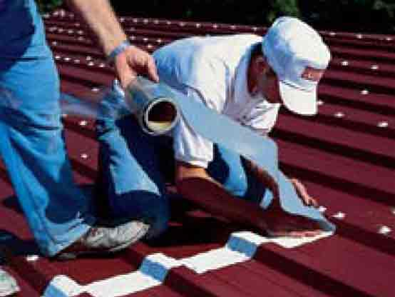 Conklin Metal Roof system seam treatment